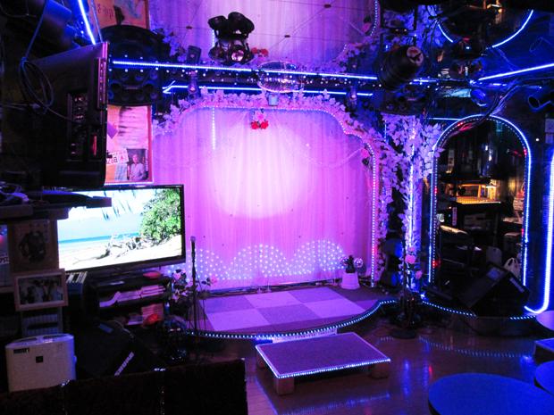 夜のステージ